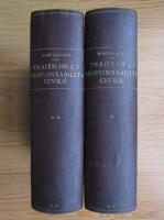Anticariat: Rene Savatier - Traite de la responsabilite civile en droit francais (2 volume, 1939)