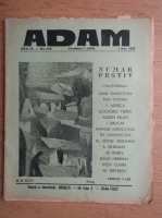 Anticariat: Revista Adam, fondator I. Ludo, anul IX, nr. 100, 1 mai 1937