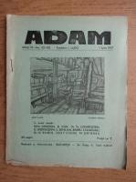 Anticariat: Revista Adam, fondator I. Ludo, anul IX, nr. 101-102, 1 iunie 1937