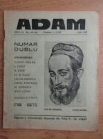 Anticariat: Revista Adam, fondator I. Ludo, anul IX, nr. 103-104, 1 iulie 1937
