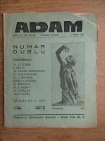Anticariat: Revista Adam, fondator I. Ludo, anul IX, nr. 105-106, 1 august 1937