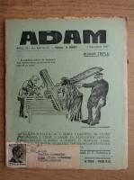 Anticariat: Revista Adam, fondator I. Ludo, anul IX, nr. 109-110-111, 1 decembrie 1937