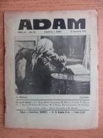 Anticariat: Revista Adam, fondator I. Ludo, anul IX, nr. 94, 15 ianuarie 1937