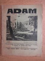Revista Adam, fondator I. Ludo, anul IX, nr. 95, 1 februarie 1937