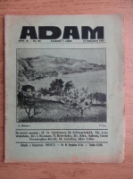 Anticariat: Revista Adam, fondator I. Ludo, anul IX, nr. 96, 15 ianuarie 1937