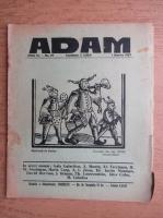 Revista Adam, fondator I. Ludo, anul IX, nr. 97, 1 martie 1937