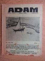Anticariat: Revista Adam, fondator I. Ludo, anul IX, nr. 98, 15 martie 1937