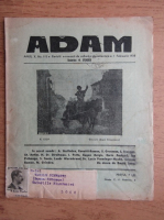 Anticariat: Revista Adam, fondator I. Ludo, anul X, nr. 115, 1 februarie 1938