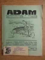 Anticariat: Revista Adam, fondator I. Ludo, anul X, nr. 116, 15 februarie 1938