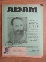 Anticariat: Revista Adam, fondator I. Ludo, anul X, nr. 117-118, 1-15 martie 1938
