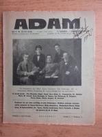 Anticariat: Revista Adam, fondator I. Ludo, anul X, nr. 125-126, 15 septembrie, 1 octombrie 1938