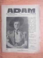 Anticariat: Revista Adam, fondator I. Ludo, anul X, nr. 130-131, 1-15 decembrie 1938