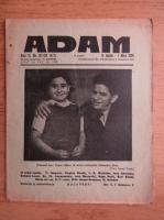 Anticariat: Revista Adam, fondator I. Ludo, anul XI, nr. 137-138, 15 aprilie, 1 mai 1939
