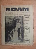 Anticariat: Revista Adam, fondator I. Ludo, anul XI, nr. 143-145, 15 iulie, 15 august 1939