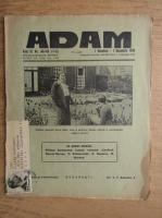 Anticariat: Revista Adam, fondator I. Ludo, anul XI, nr. 148-149, 1 noiembrie, 1 decembrie 1939