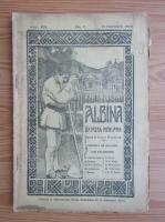Anticariat: Revista Albina, anul XIII, nr. 7, noiembrie 1909