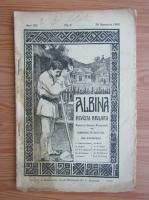 Anticariat: Revista Albina, anul XIII, nr. 9, noiembrie 1909