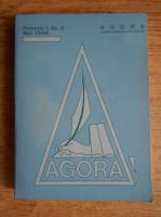 Anticariat: Revista alternativa de cultura Agora, volumul 1, nr 2, Mai 1988