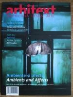 Revista Arhitext, anul XVI, nr. 8-9 (198-199), august-septembrie 2009