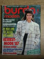 Revista Burda moden, nr. 9, septembrie 1987