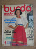 Revista Burda, nr. 4, aprilie 1977