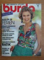 Revista Burda, nr. 6, iunie 1990