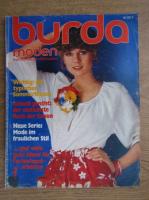 Revista Burda, nr. 7, iulie 1977