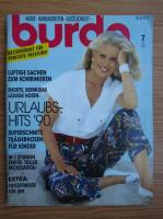 Revista Burda, nr. 7, iulie 1990