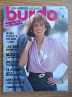 Revista Burda, nr. 8, august 1990
