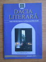 Anticariat: Revista Dacia Literara, nr. 1 (94), anul XXII, ianuarie 2011