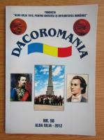 Anticariat: Revista Dacoromana, nr. 58, 2012