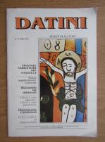 Revista Datini, nr. 1, 1993