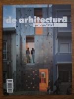 Revista de arhitectura, nr. 38, In context
