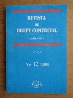 Anticariat: Revista de drept comercial, anul X, nr. 12, 2000