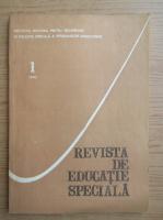 Anticariat: Revista de educatie speciala, nr. 1, 1993