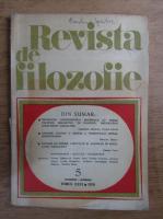 Anticariat: Revista de filozofie, nr. 5, 1979