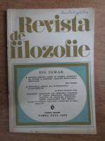 Anticariat: Revista de filozofie, nr. 6, 1979