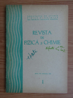 Anticariat: Revista de Fizica si Chimie, anul XVI, nr. 1, ianuarie 1979
