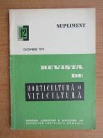 Anticariat: Revista de horticultura si viticultura, nr. 12, decembrie 1970