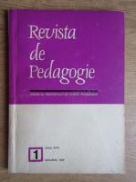 Revista de pedagogie, nr 1, anul XVIII, ianuarie 1969