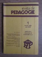 Revista de pedagogie, nr. 1, ianuarie 1983