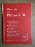 Revista de pedagogie, nr. 1, ianuarie 1988