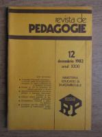 Revista de pedagogie, nr. 12, decembrie 1982