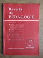 Revista de pedagogie, nr. 12, decembrie 1988