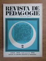 Anticariat: Revista de pedagogie, nr. 2, 1978