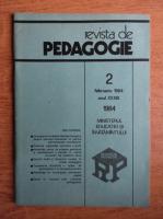 Anticariat: Revista de pedagogie, nr. 2, februarie 1984