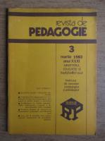 Revista de pedagogie, nr. 3, martie 1982