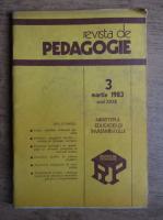 Revista de pedagogie, nr. 3, martie 1983
