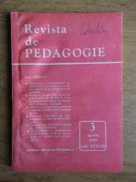 Revista de pedagogie, nr. 3, martie 1989