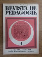 Anticariat: Revista de pedagogie, nr. 4, 1978
